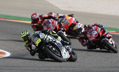 Crutchlow broke shoulder ligament at Aragon's Teruel MotoGP race