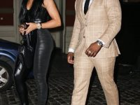 Fashion Bomb Men: 50 Cent Keeps It Dapper at Haute Living Event in Indochino  Suit and Taft Shoes with Girlfriend Jamira Haines