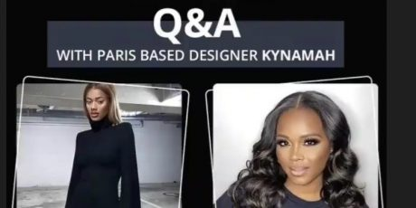 Live, Today at 3pm! Learn about Parisian Brand Kynamah + Shop Now at FashionBombDailyShop.com