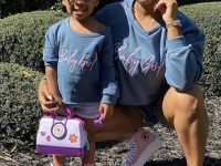 Mommy-and-Me Style With Toya Johnson and Reign Beaux in Matching Fashion Nova Sweatshirts