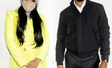 Monica Spotted With Barack Obama in Neon $3,350 Balmain Double-Breasted Wool and Cashmere Coat at Biden-Harris Campaign in Atlanta
