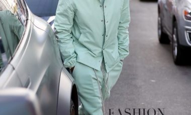 Usher Kept It Minty Fresh in Rick Owens Look and Comme Des Garçons X Nike Air Force 1 Mid Sneakers!