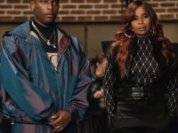 Ghost on Starz Fashion Credits: Tariq in a Celine Black and White Varsity Jacket, Mary J Blige in Gold  Earrings from Sister Love MJB, and more!
