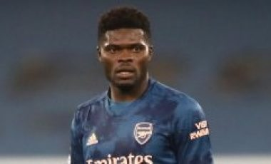 Mikel Arteta reacts to Thomas Partey's display vs Manchester United