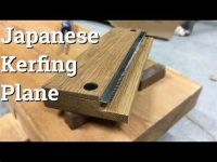 Making A Wood Working Japanese Plane