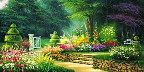Garden Hd Background Images