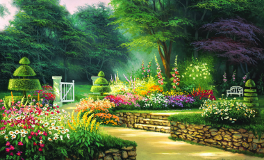 Garden Background Hd Png